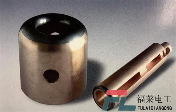 Series of tungsten shielding type of contact