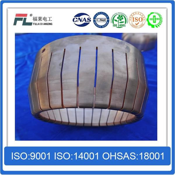 Copper tungsten alloy contact finger