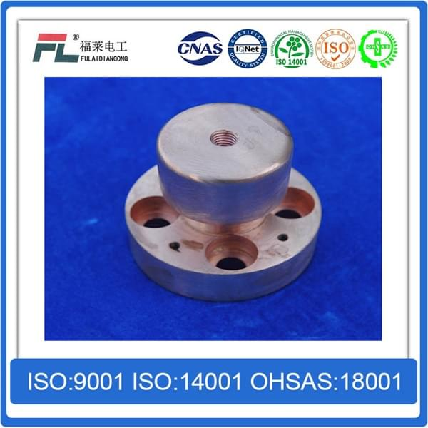 Copper tungsten alloy contact