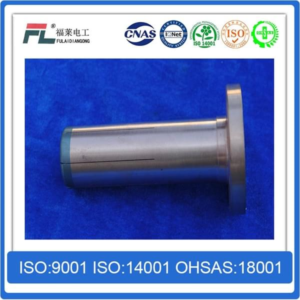 Moving arc copper tungsten alloy contact