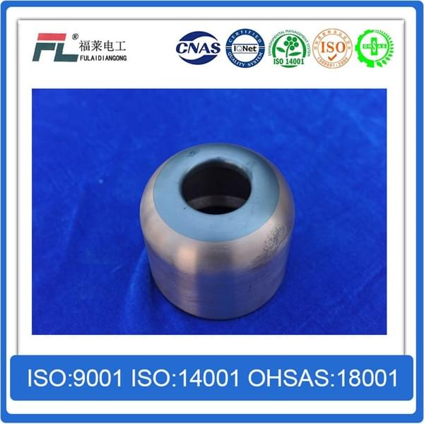 Shielded shield of copper tungsten alloy shielding material
