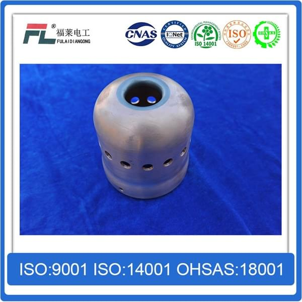 Shielded shield of copper tungsten alloy shielding material