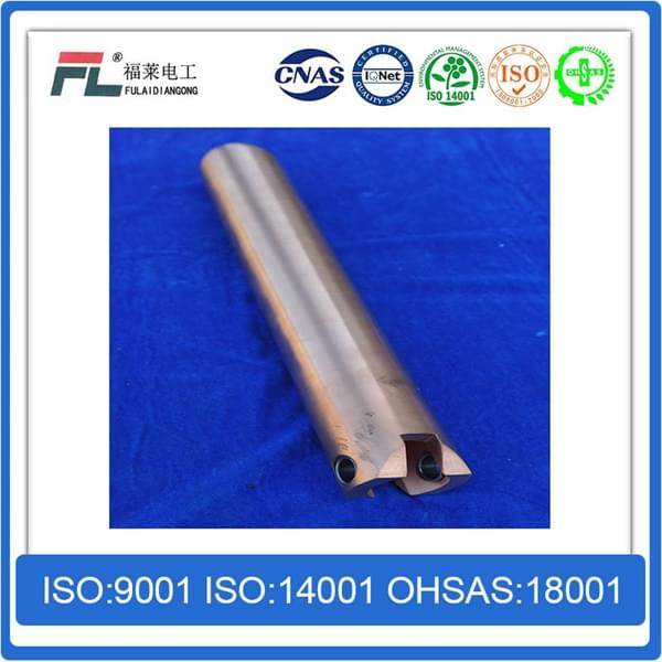 Copper tungsten alloy contact guide pole