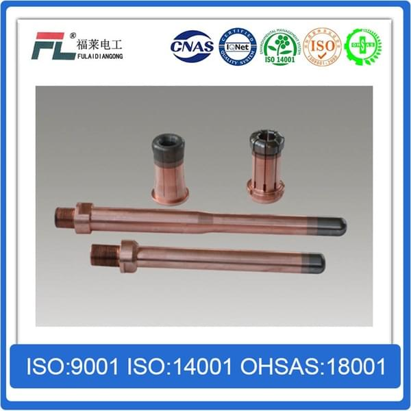 Gradient copper tungsten / copper chromium / copper zirconium / integral arc contacts