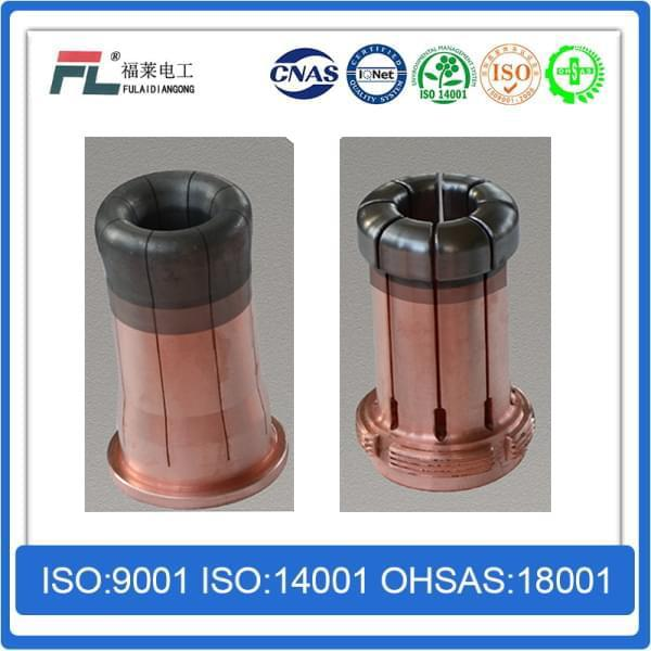 Gradient Copper TungstenChromium Zirconium Copper Integral Arc Contact